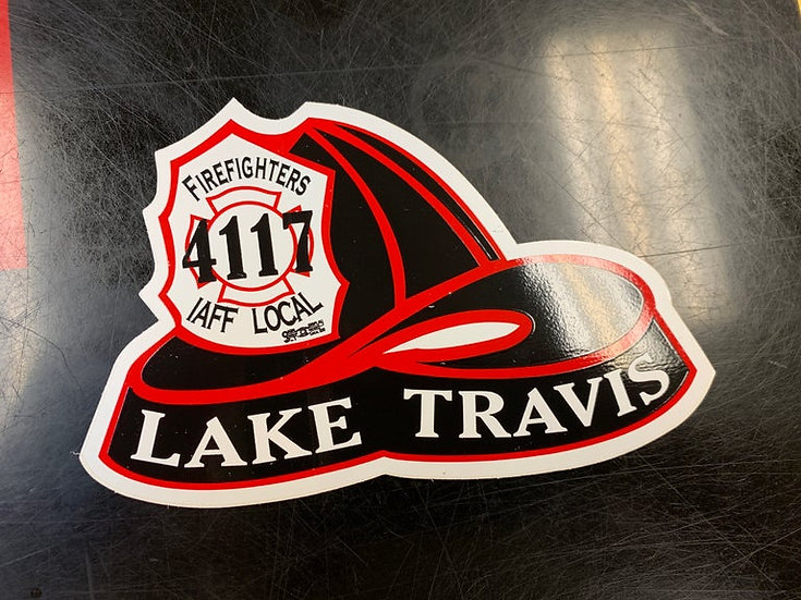 LTFirefighters Helmet Sticker