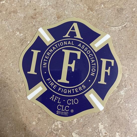 IAFF Sticker - Purple