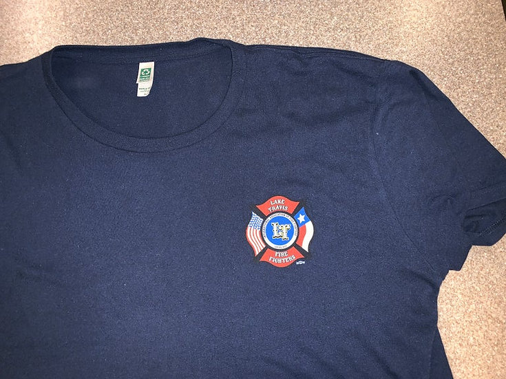 LTfirefighters - T-Shirt w/Left Chest Only