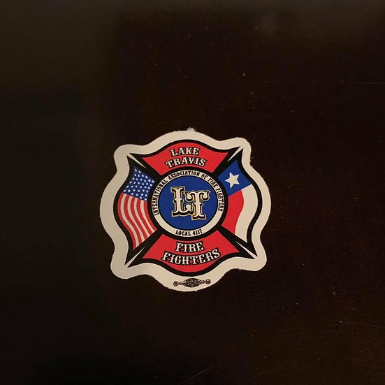 LTfirefighters - Small Sticker