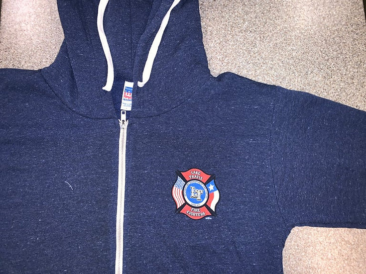OLD LTfirefighters - Zip Hoodie w/Front Logo Only