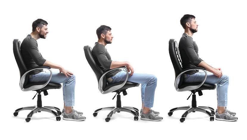 Rehabilitation concept. Collage of man w