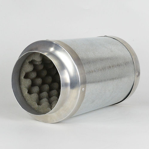 Silenciador 125mm Médio
