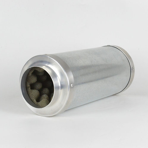 Silenciador 100mm Compacto