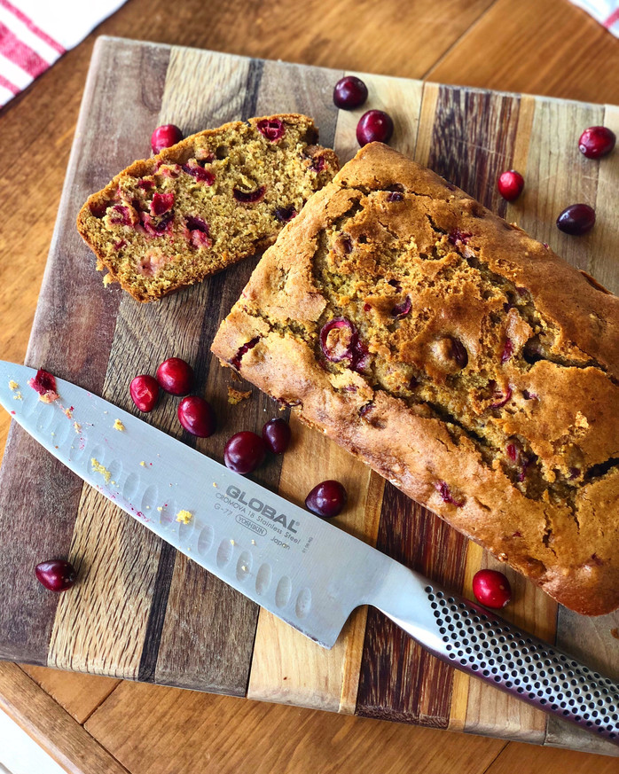 'tis the season for Cranberry Orange Bread