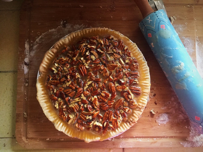 a recipe that needs no introduction... classic pecan pie