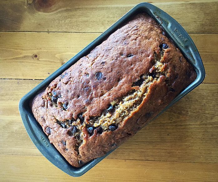 Foods That Travel: Chocolate Chip Banana Bread