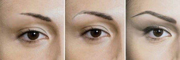 Micropigmentation for eyebrows