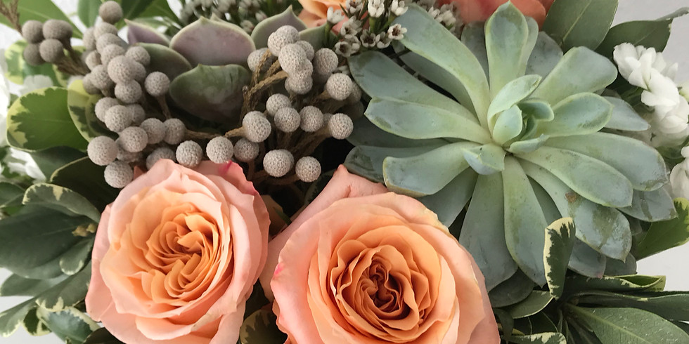 Fall Succulents and Floral Private Event - Thielen