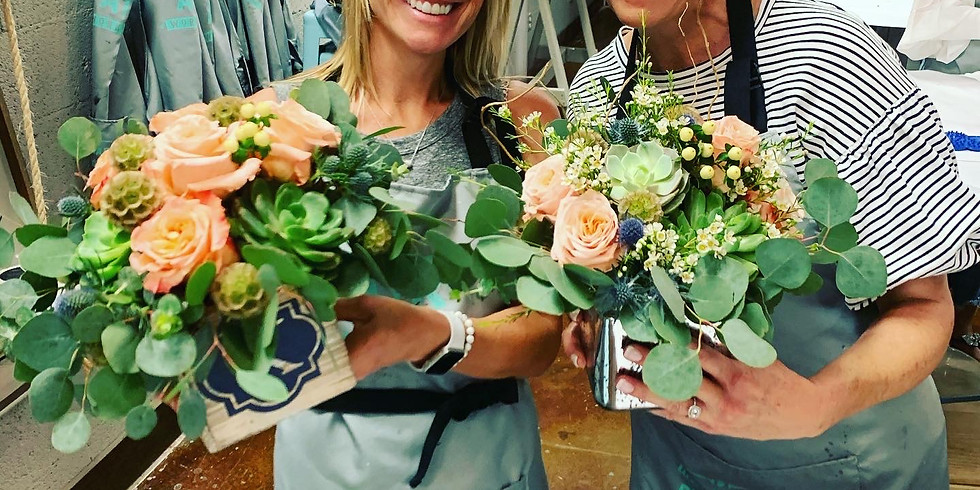 Summer Blooms in a box at The AR Workshop