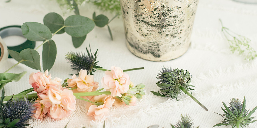 Virtual Floral Arranging Facebook Live