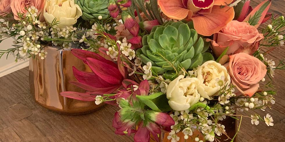 Public- Floral Arranging Class