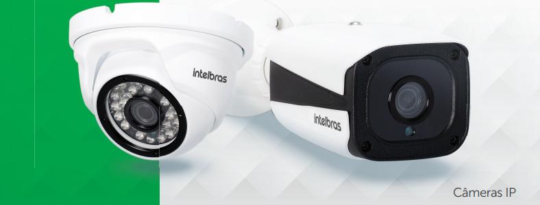 Câmera Intelbras IP minidome Full HD VIP 1220 D G2