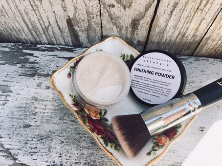 100% Natural Finishing Powder