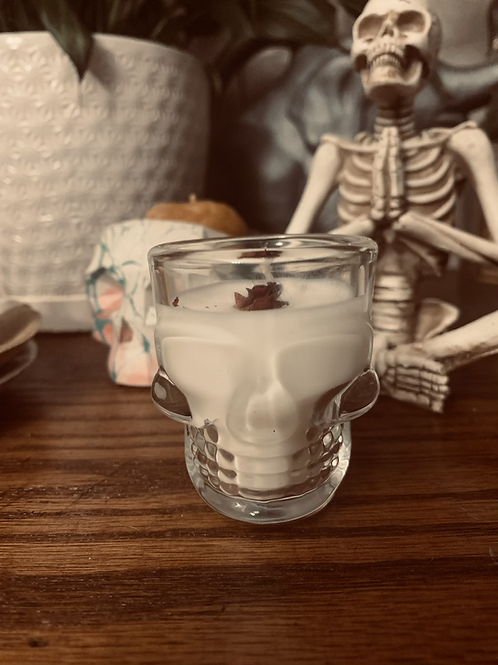 Skull Mini Candles