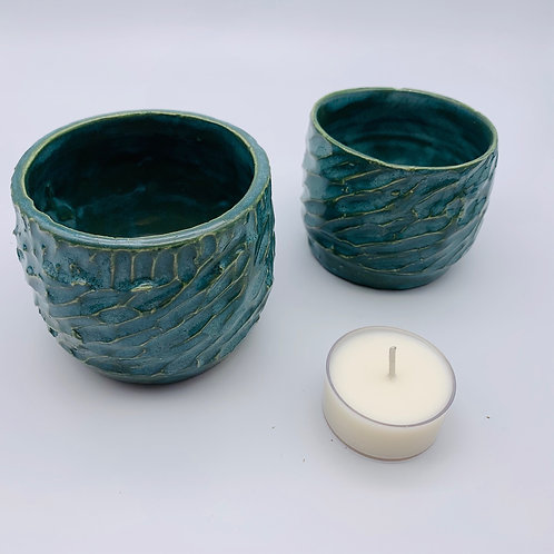 Teal Pottery