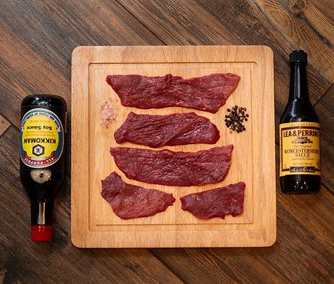 Beef Jerky Meat ($10.00 per pound)