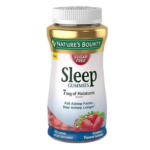 Nature's Bounty Sleep Gummies 7Mg Melatonin