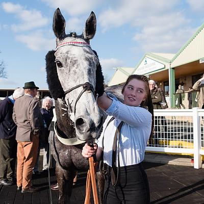 Winning Horses & Charity Race