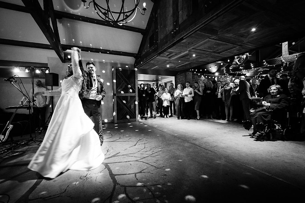 First dance in the Wainhouse