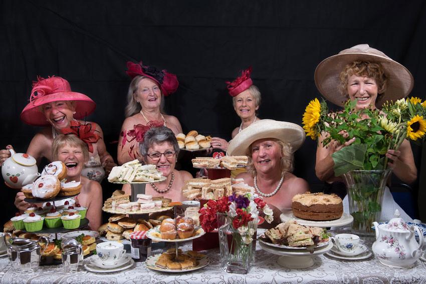 Buff Guide to Bodenham calendar - tea party