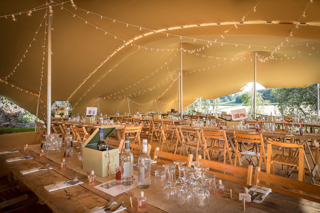 Wilde Lodge marquee