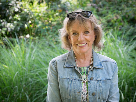 Dame Esther Rantzen Photoshoot