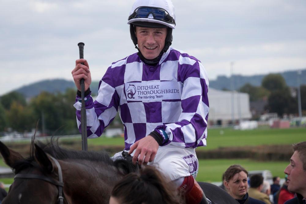 Jockey at Hereford Races