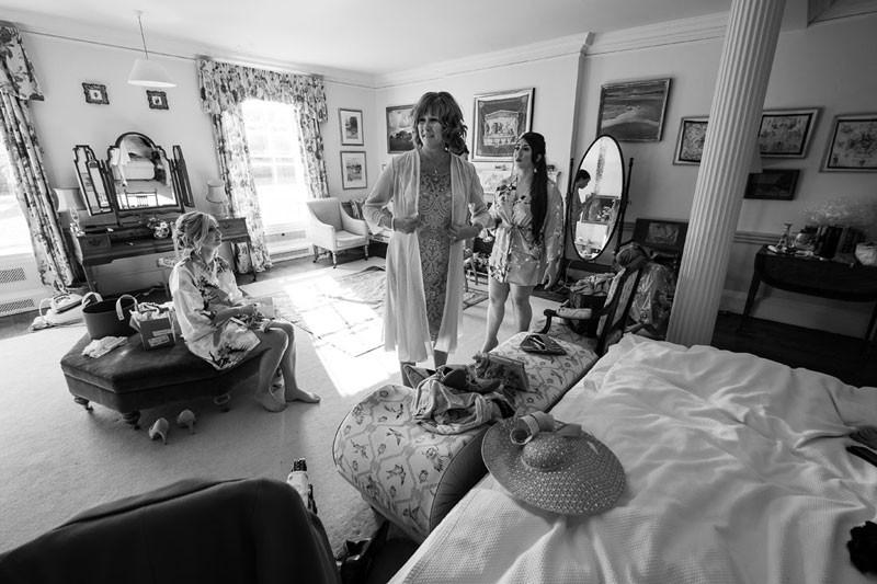 Walcot Hall bridal suite