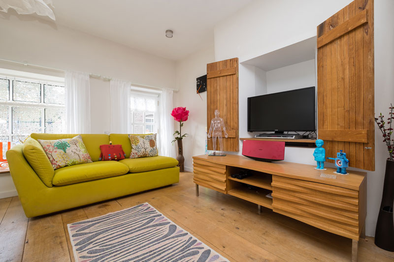 Declutter ahead of a property photoshoot