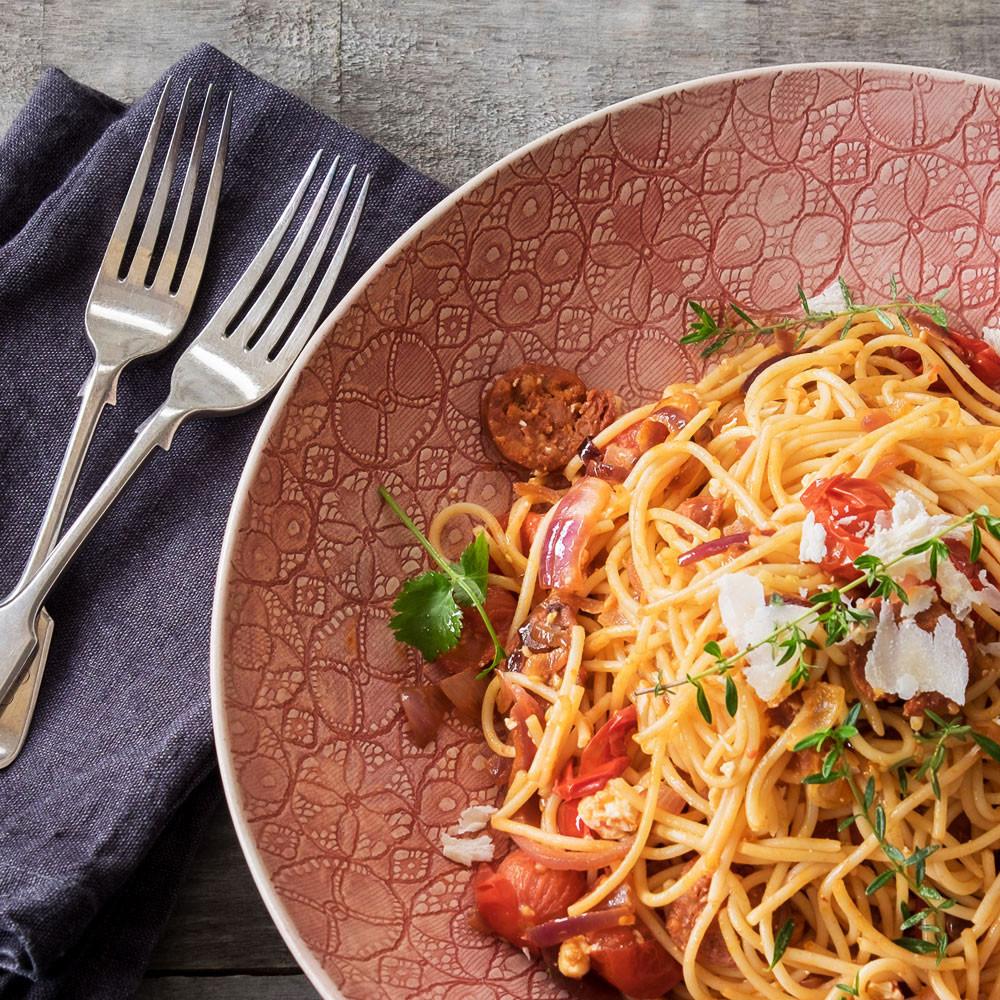 Wonki Ware pasta bowl