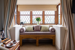 Window seat in bed and breakfast