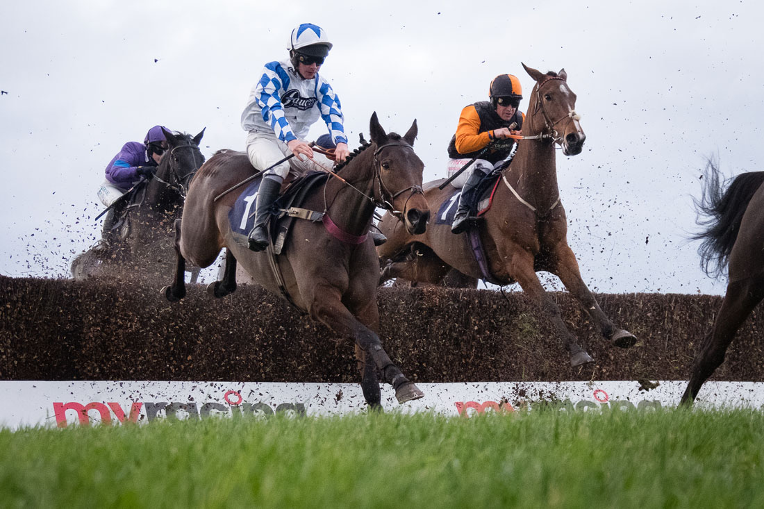 Horse racing at Hereford