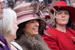 Ladies in hats!
