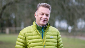 Hawk Conservancy Trust photoshoot with Chris Packham