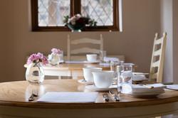 Guest house breakfast room