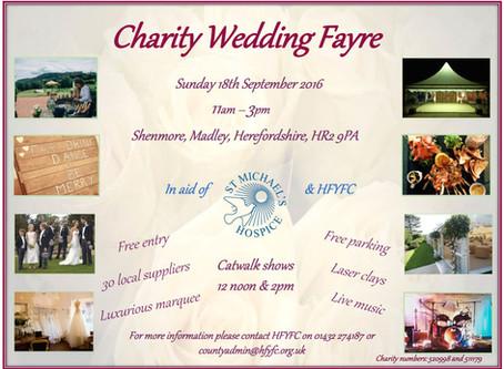 HFYFC Charity Wedding Fayre