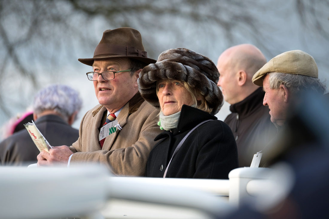 Parade ring spectators