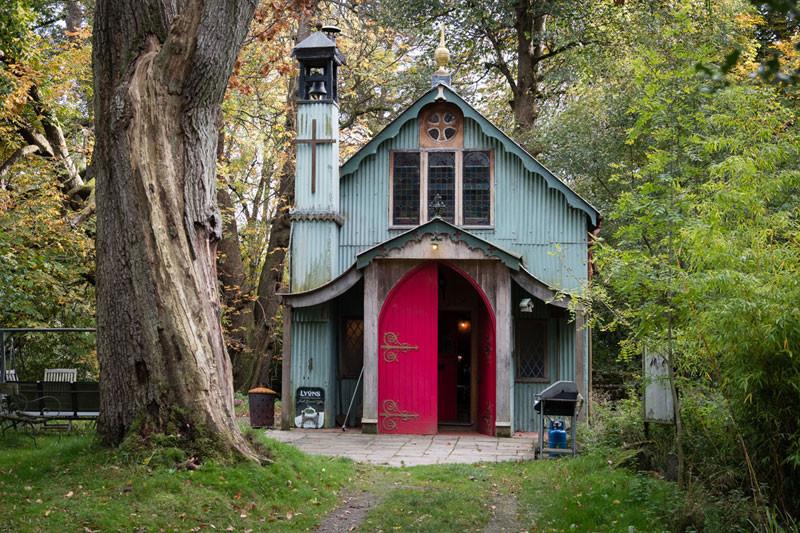 Walcot Hall Woodland Chapel