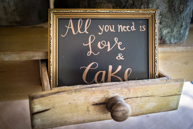 Wilde Lodge wedding decoration