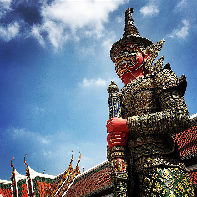Demon at the Grand Palace, Bangkok