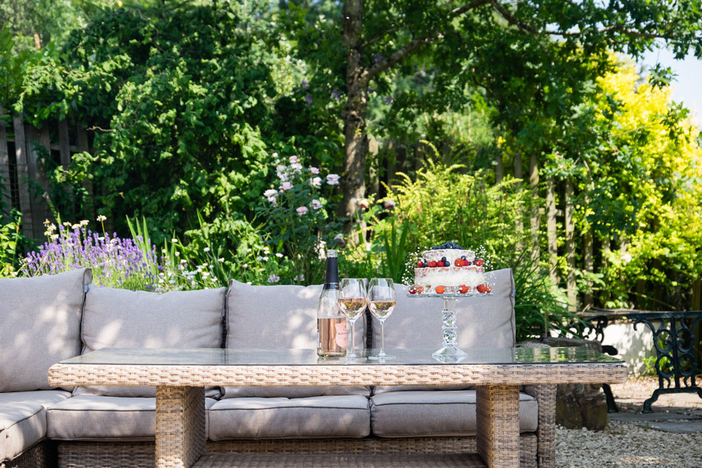 Holiday let outdoor space