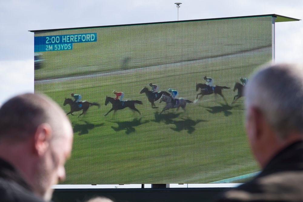 Big screen racing