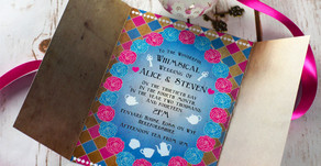 Get the personal touch with Bluebird Wedding Stationery