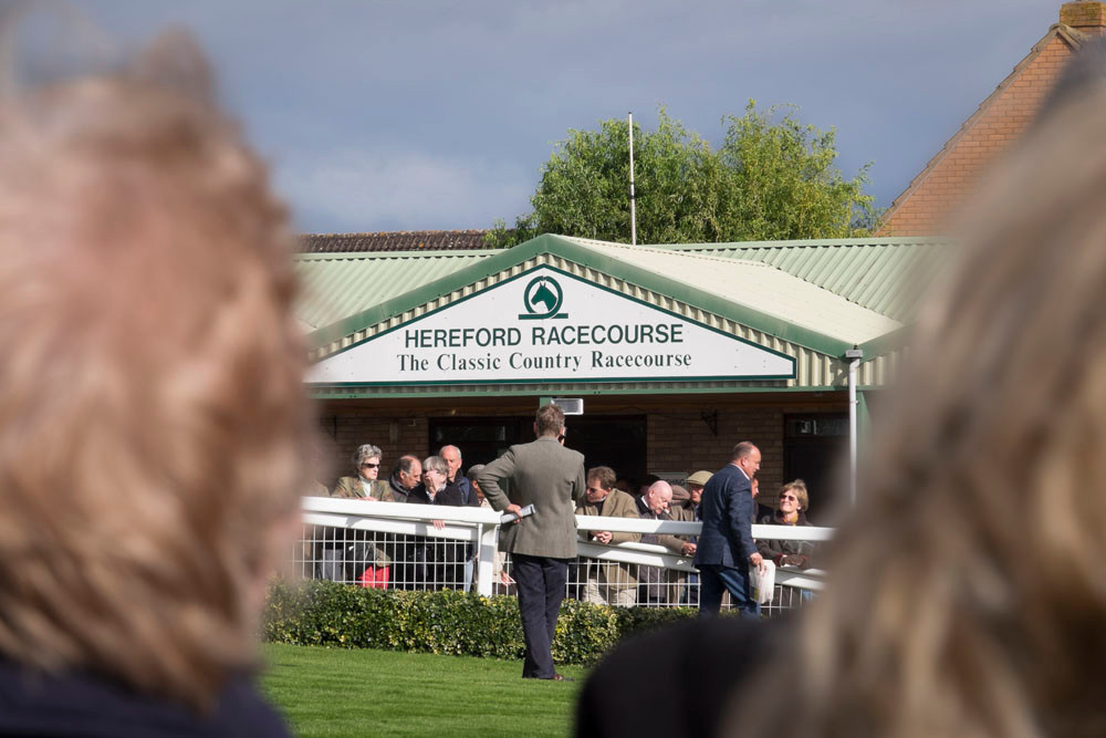 hereford Racecourse re-opening