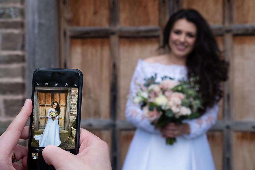 Dewsall Court wedding photography Herefordshire