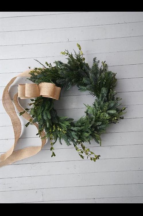 Wreath Workshop-December 13th at 2:00pm