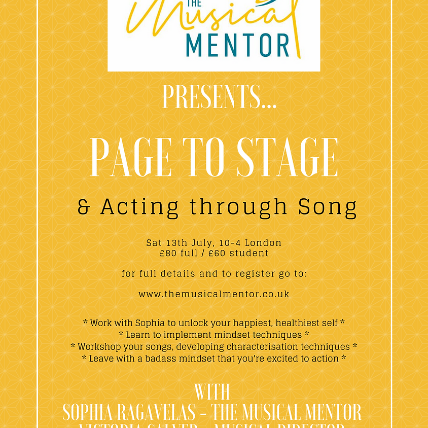 Page to Stage