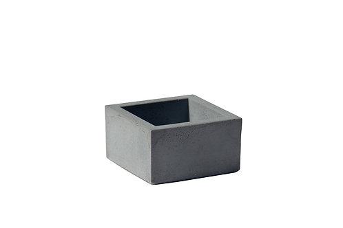 עציץ בטון מרובע