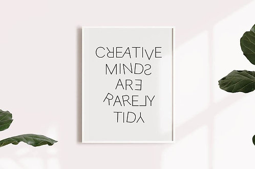 הדפס להורדה- Creative minds
